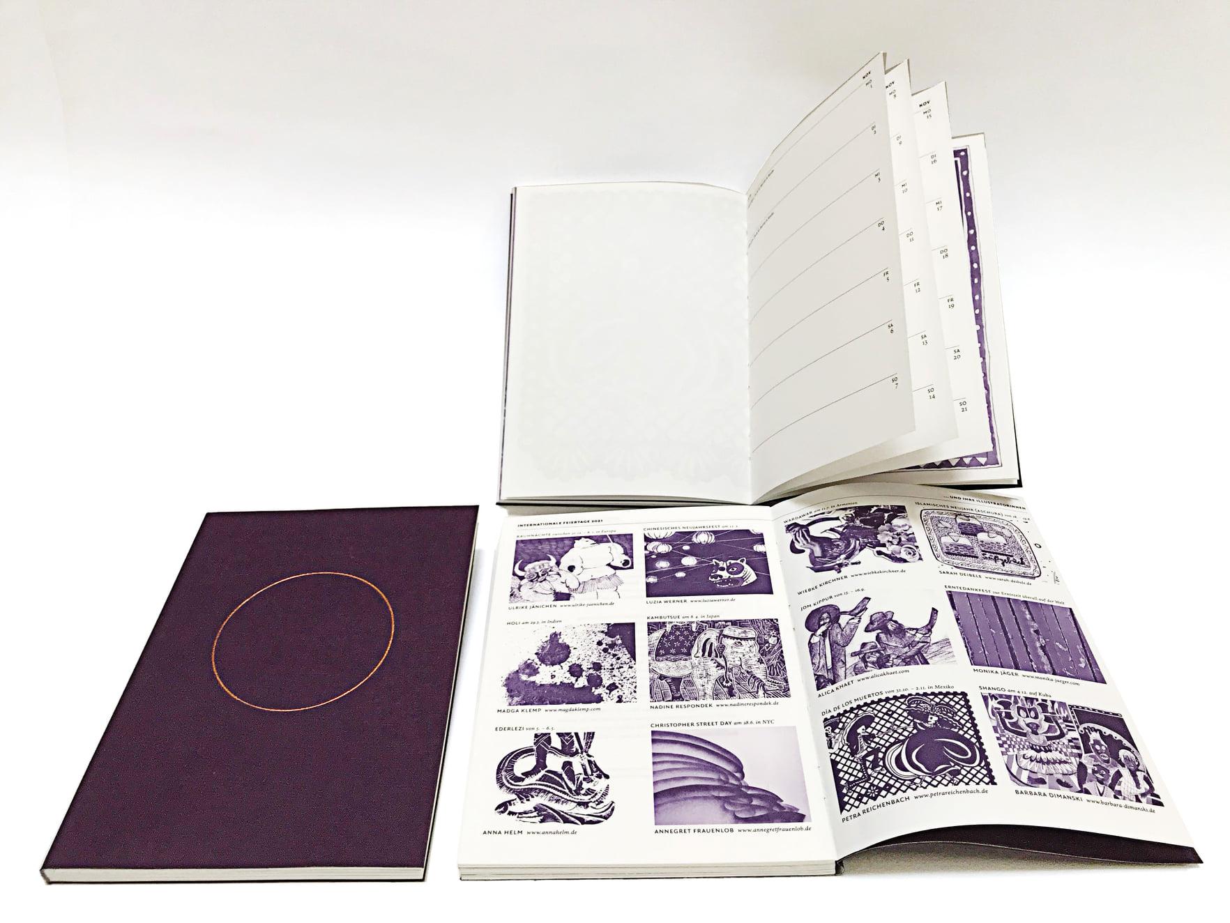 b.a.c.H. Taschenkalender 2021 / Foto von Petra Reichenbach